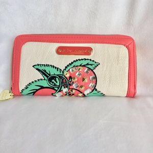 Betsey Johnson Studded Cherries Wallet